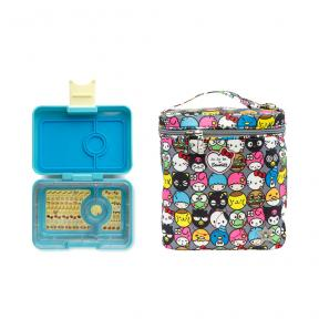 Bundling Yumbox MiniSnack Cannes Blue + Fuel Cell Hello Friends