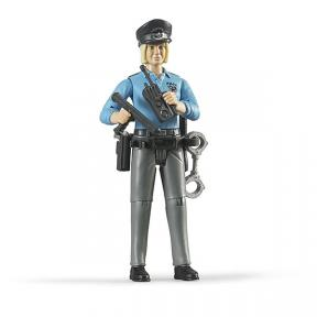 Bruder 60430 - Policewoman Light Skin And Accessories Action Figures