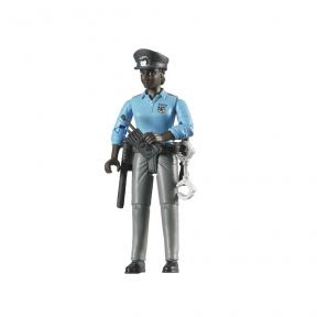 Bruder 60431 - Policewoman, dark skin,accessories