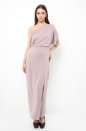 Eden long gown in lilac