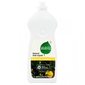 Seventh Generation Natural Dish Liquid Fresh Citrus & Ginger 739ml