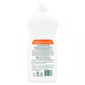 Seventh Generation Natural Dish Liquid Lemongrass & Clementine Zest 739ml