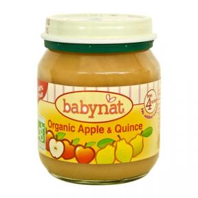 Babynat Organic Puree - Apple & Quince