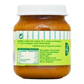 Babynat Organi Puree - Brocolli Carrot Jar (4)