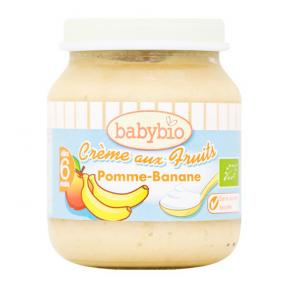 Babynat Organic Creamy Fruits - Apple Banana (6)