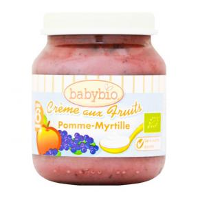Babynat Organic Creamy Fruits - Apple Blueberry (6)