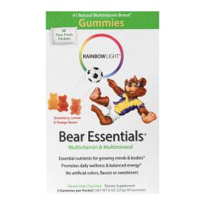 Multi Vitamin Gummy Bear + Vit D 90Gummies