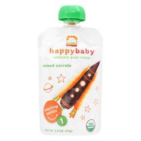 Happy Pouch Mixed Carrots 99g