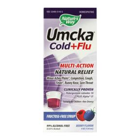 Umcka Cold & Flu Berry Flavor 120 ml