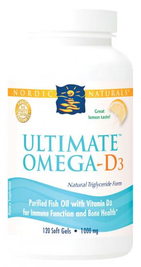 Ultimate Omega w/Vit D3 1000 mg
