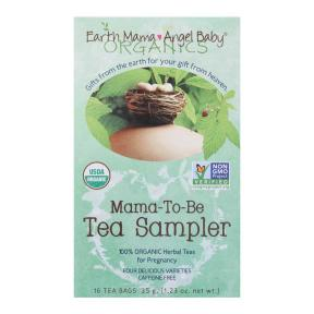 Earth Mama Angel Baby Mama-To-Be Tea Sampler 16 count