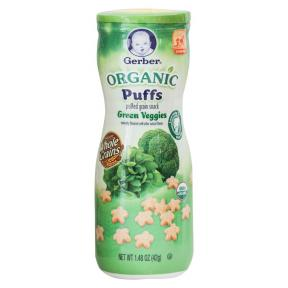 Puff Organic Green Veggies