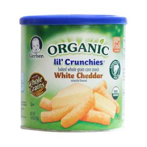 Lil Crunch Organic White Cheedar