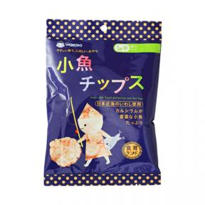 Wakodo Baby Snacks - Small Anchovy and Shrimp Chips