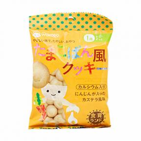 Wakodo Baby Snacks - Cookies with Flavorful Egg