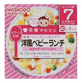 Wakodo Rice Porridge - Sweet Potato, Pumpkin And Cream Stew