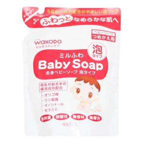 Wakodo Foamy Baby Soap - Refill (250 ml)
