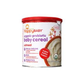 Happy Baby Organic Oatmeal Cereal
