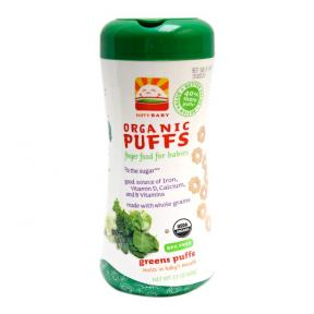 Happy Baby Organic Puffs - Greens (Vegetables)