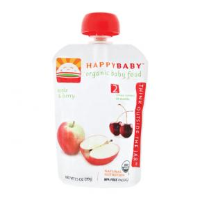 Happy Baby Organic - Apple Cherry