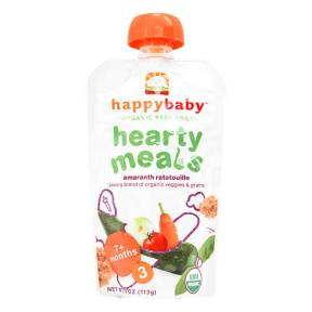 Happy Baby Organic Baby Food - Amaranth Ratatouille ( Veggie & Amaranth )