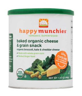 Happy Baby Happy Munchies - Broccoli Kale & Cheddar