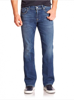 7 for all mankind - brett straight-leg jeans