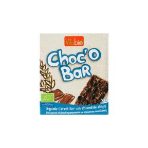 Kalibio Organic Cereal Bar With Chocolate Chips