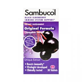 Sambucol Black Elderberry Original / Reguler 30tabs