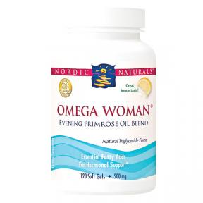 Nordic Naturals Omega Woman 500 mg - Lemon 120 sgls