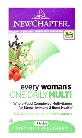 New Chapter Organics Every Woman One Daily, 48 tablets
