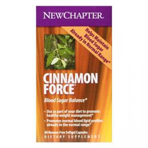 New Chapter Organics Cinnamonforce, 60 softgel