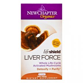 New Chapter Organics Liver Force, 60 Vcaps