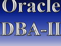 Oracle DBA-II