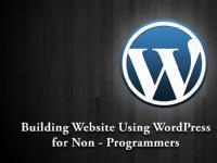 Website Development For Non Programmers Using WordPress