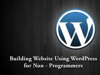 Website Development For Non Programmers Using WordPress