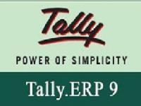 Certificate in Basics of Tally  ERP 9