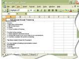 MS Excel Training
