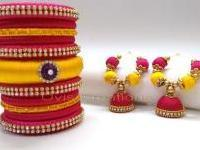Eco-Friendly Silk Thread Jewellery Making Workshop By Nu-Trendz Academy