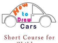How to Draw Cars : Short Course for Children