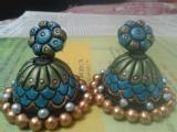 Certificate course in Terracotta jewellery making and Fashion Jewellery Designing By Govt approved Teacher