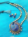 Advanced terracotta jewellery making class in tirupur by Nakshatra terracotta jewellery