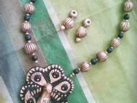 Advanced Terracotta Jewellery Making Workshop in Coimbatore contact 9445097778