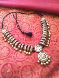 Tirupur Advanced Terracotta jewellery making class by Nakshatra terracotta jewellery
