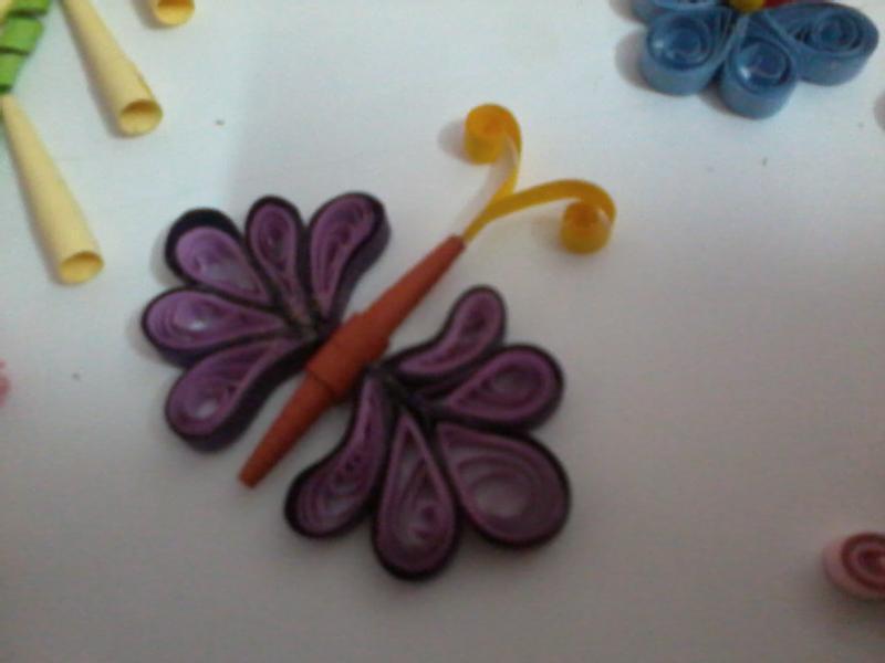 Paper quilling beautiful things made from paper strips for How to use quilling strips