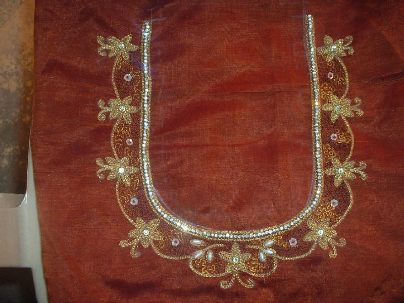 Aari embroidery classes basic and advanced level in