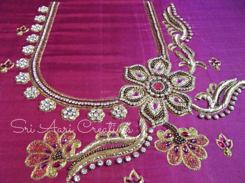 Advance aari embroidery designer courses saidapet in