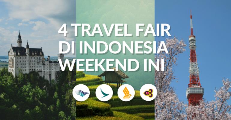 Berburu Tiket Pesawat Murah Di Empat Travel Fair Indonesia Akhir