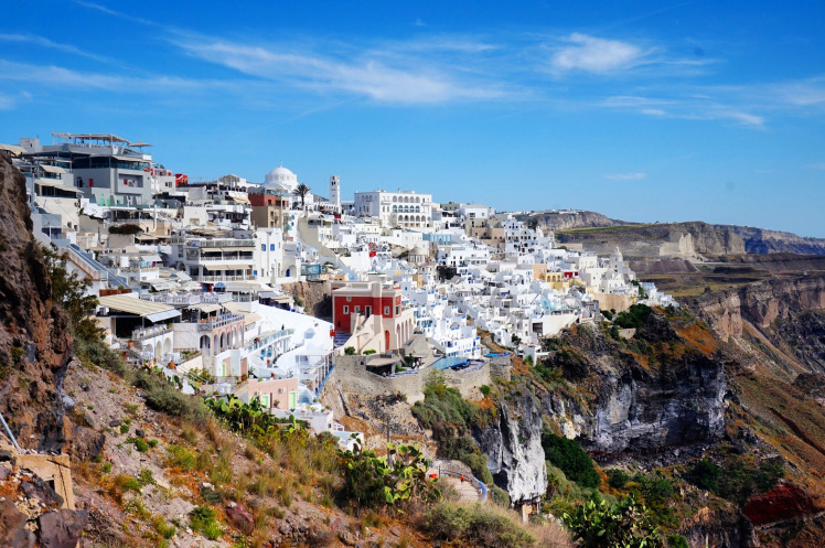 Fira – View from Cable Car
