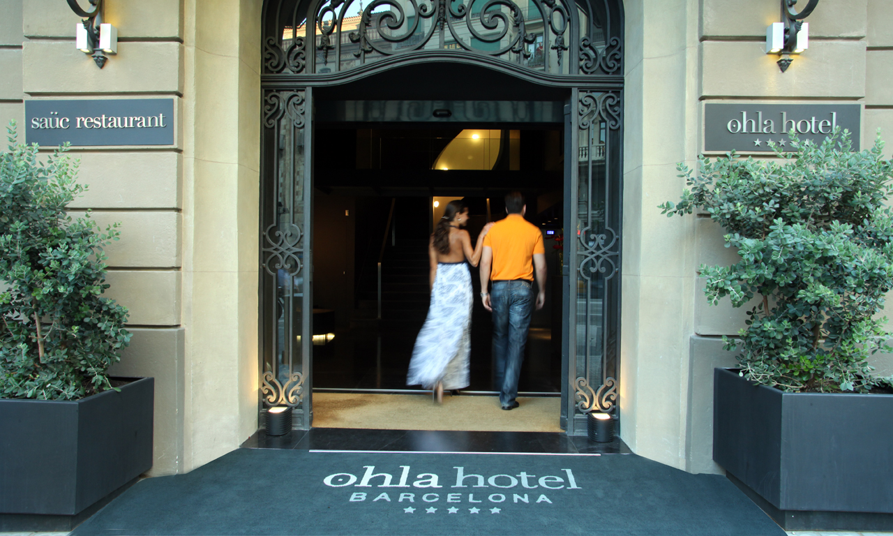 Ohla barcelona for Leading boutique hotels of the world